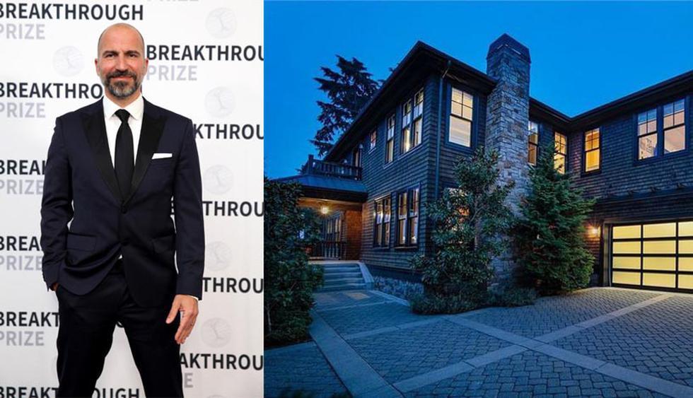 A inicios de este mes, Dara Khosrowshahi vendió su casa en Seattle por $ 3,8 millones. (Foto: Realtor)