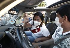 """Keiko Fujimori a Pedro Castillo: """"Acepto el reto de debatir en la puerta del penal"""" Santa Mónica"""