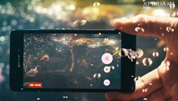 MWC 2015: Sony presentó smartphone de gama media sumergible