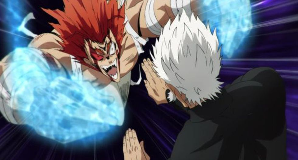 Garou se 'convirtió' en un monstruo (Foto: One Punch Man / Crunchyroll)
