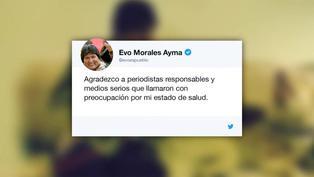 Expresidente Evo Morales da positivo a COVID-19