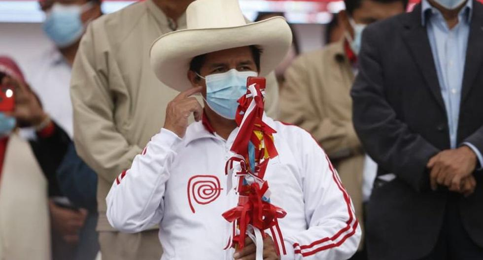 El discurso inicial de Castillo en las elecciones es distinto de lo que señalan sus compromisos recientes. (Foto: Jorge Cerdán /@photo.gec)