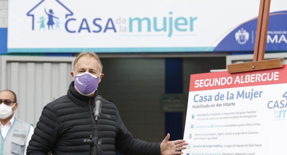 El alcalde de Lima presidió la inauguración (Foto: GEC)