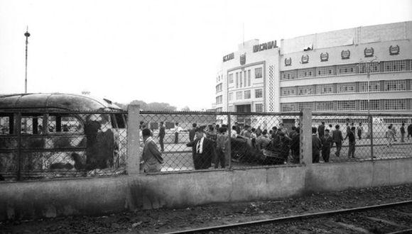Lo ocurrido en el Estadio Nacional enlutó al fútbol nacional e internacional. (Archivo Histórico El Comercio)