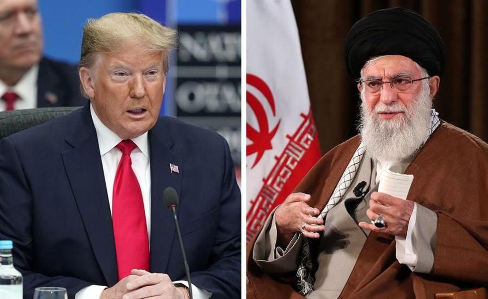 Donald Trump y el ayatola Alí Jamenei, líder supremo de Irán. (EFE/EPA/WILL OLIVER/ IRAN'S SUPREME LEADER OFFICE).