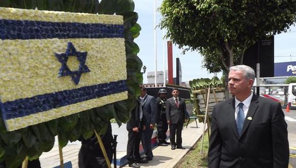 Carmen de la Legua rindió homenaje a víctimas del Holocausto