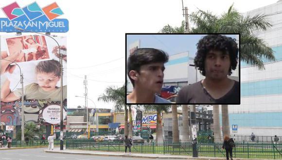 """Plaza San Miguel: jóvenes gays estaban """"demasiado cariñosos"""""""
