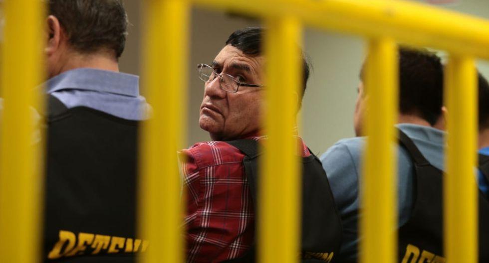 Elías Cuba cuenta con prisión preventiva por presuntamente liderar a Los Intocables Ediles, investigados por corrupción. (Foto: Hugo Pérez / El Comercio)