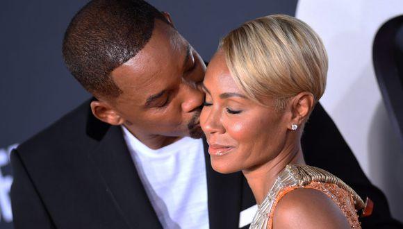 La esposa de Will Smith, Jada Pinkett Smith, reveló que vivió un corto romance con el cantante August Alsina. (Foto: AFP)