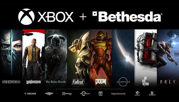 Xbox compró a Bethesda. (Difusión)