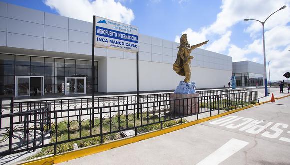Aeropuertos de Juliaca y Tacna restringen operaciones comerciales por regreso de cuarentena (Foto: archivo GEC)