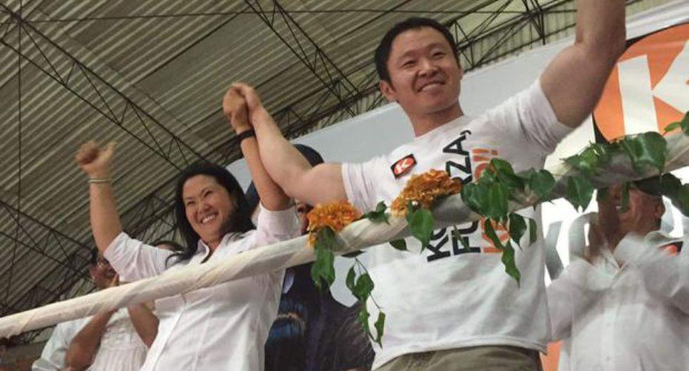 """Kenji Fujimori: """"Trabajo para que Keiko sea presidenta de Perú"""""""