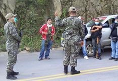 Coronavirus en Perú: comités de autodefensa impiden ingreso de vehículos al Vraem
