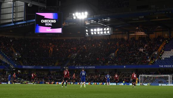 Esta última semana se han visto casos en el que el VAR anuló goles en la Premier League por off side milimétricos. Su perfección ha generado la ola de críticas. (Foto: EFE)
