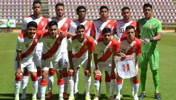 Así quedó la lista final de convocados de la selección peruana para el Sudamericano Sub 20. (Foto: @SeleccionPeru)
