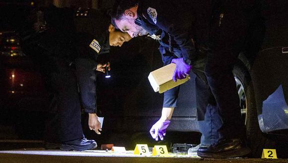 La violencia callejera en Chicago es atribuida en gran parte a enfrentamientos entre pandilleros. Foto referencial. (Foto: AP/ archivo)