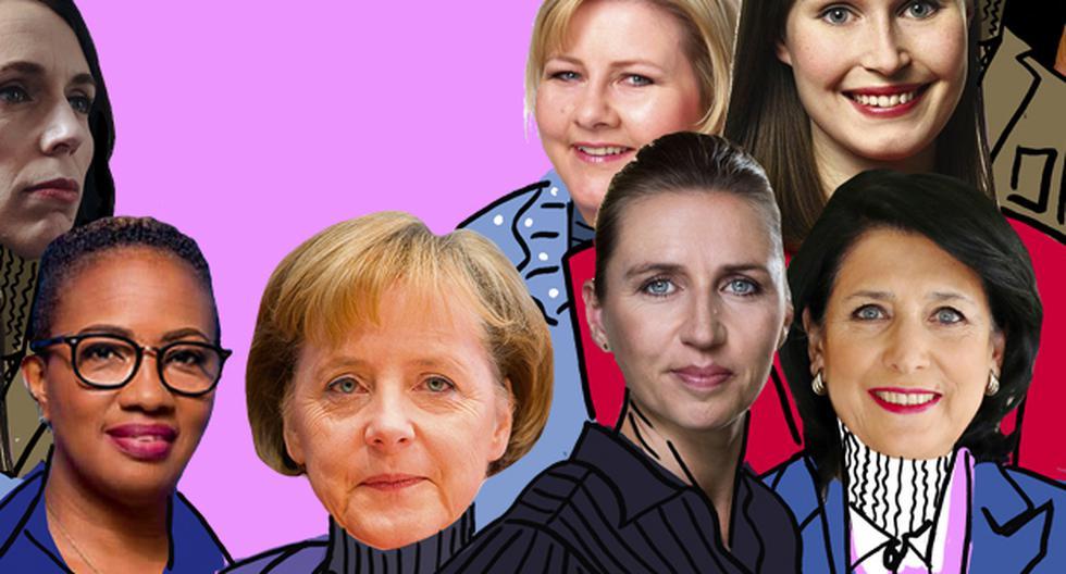El poder femenino en tiempos de coronavirus. (Ilustración: Giovanni Tazza / El Comercio)
