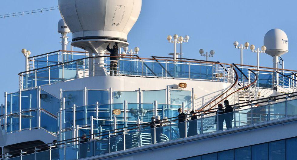 Más de 200 pasajeros a bordo del Diamond Princess han dado positivo por el nuevo coronavirus COVID-19. (AFP)