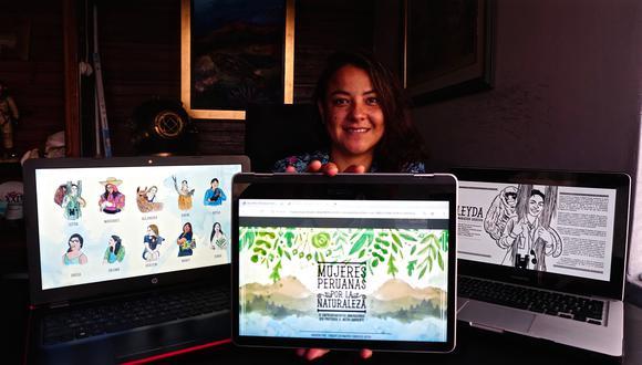 La periodista Denisse Sotomayor es autora del libro. (Fotos: Difusión)