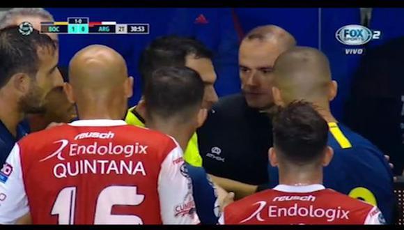 Boca Juniors vs. Argentinos Juniors: Marcone es expulsado por violenta acción en Copa de Superliga | VIDEO. (Video: FOX Sports 2 / Foto: Captura de pantalla)