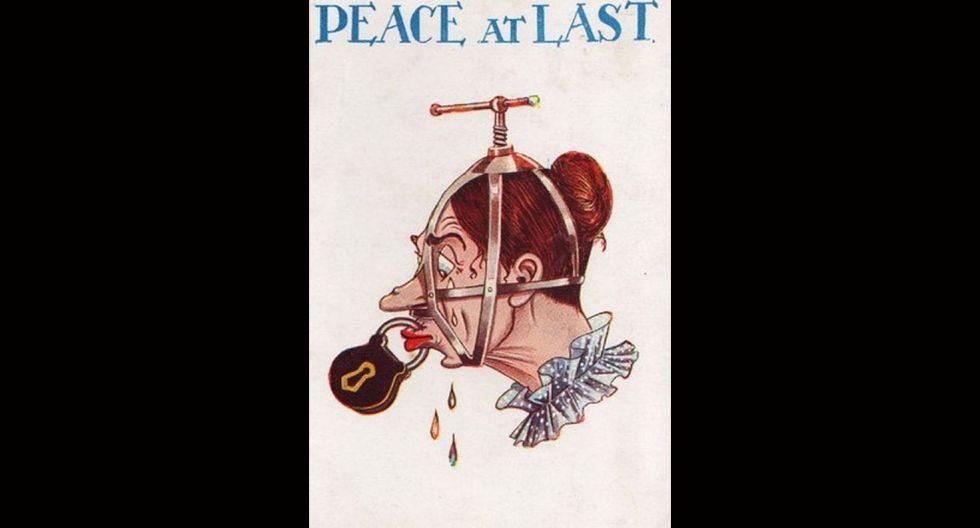 Estos afiches de 1920 contra la mujer indignarán a cualquiera - 13