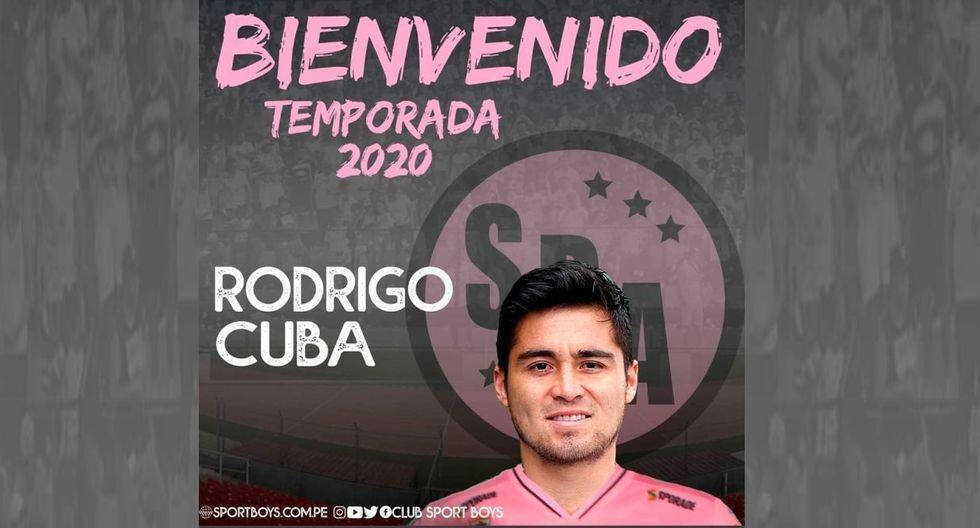 El lateral derecho Rodrigo Cuba de 27 años, pasó de Sport Boys a Zacatepec del Ascenso mexicano. (Foto: Twitter)