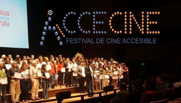 Festival de Cine Accesible se realizará del 26 al 31 de enero de manera virtual. (Foto: @accecine)