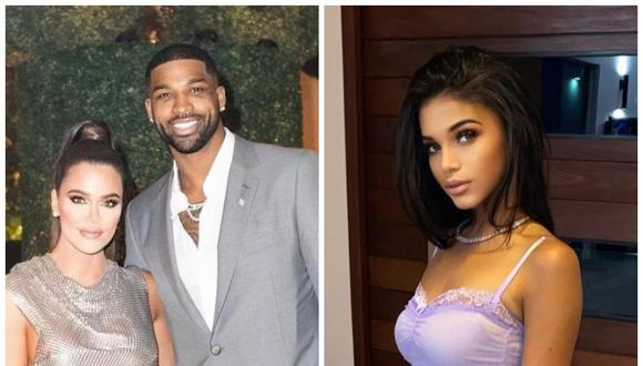 Sydney Chase asegura haber mantenido una relación con Tristan Thompson, la pareja de Khloé Kardashian. (Fotos: Instagram)