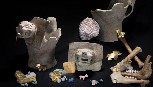 El hallazgo es extraordinario porque las piezas estaban todas asociadas y en contexto, lo que permite comprender los rituales del estado de Tiwanaku. (Foto: Teddy.seguin@wanadoo.fr)