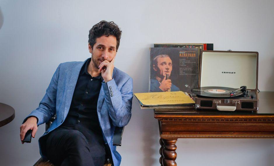 Peglau grabó sus dos primeros discos en Londres, de manera casera. El tercero lo encuentra instalado nuevamente en el Perú. (Foto: Hugo Pérez)