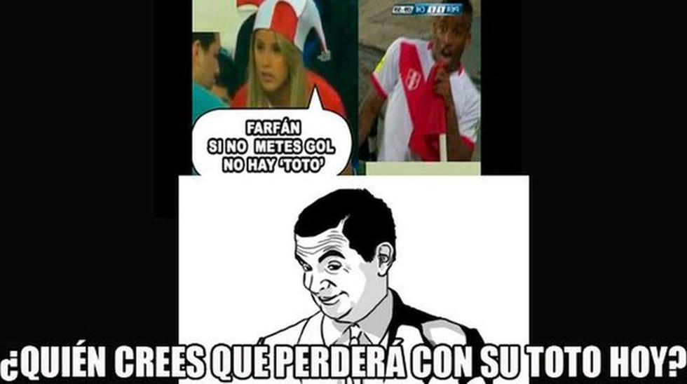 Perú vs Paraguay: Farfán víctima de memes tras bailar el 'Totó' - 2