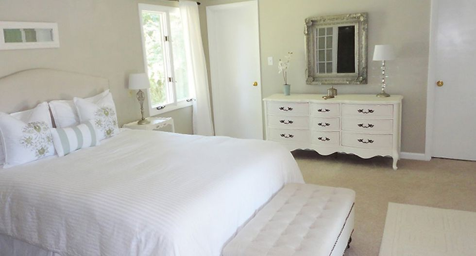 El estilo shabby chic, simple y elegante. Ideal para decorar tu cuarto de huéspedes. (Foto: stupic.com)