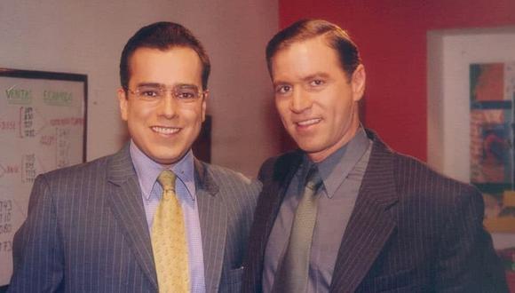 """Jorge Enrique Abello y Ricardo Vélez encarnaron a don Armando y Mario Calderón, respectivamente, en """"Yo soy Betty, la fea"""" (Foto: RCN)"""