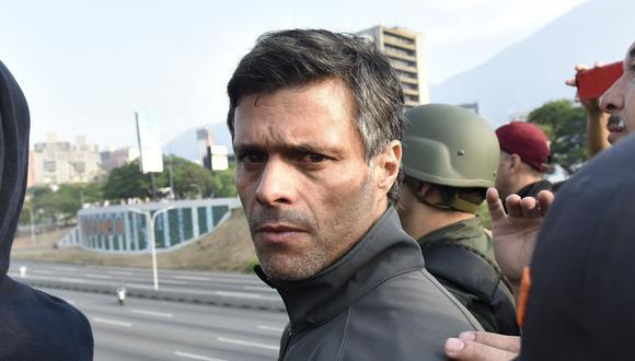 Venezuela: Leopoldo López solicitó protección como huésped en la embajada de Chile en Caracas. (Bloomberg).