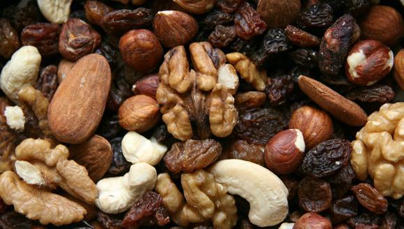 Los frutos secos son una opción saludable. (Pixabay)