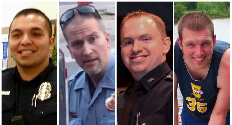 Los policías Jeronimo Yáñez, Derek Chauvin, Aaron Dean y Timothy Loehmann acabaron con la vida de ciudadanos afromericanos.
