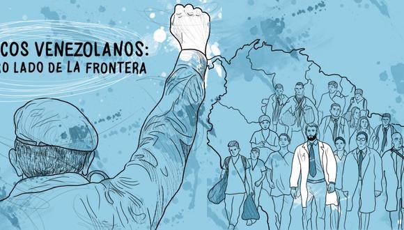 """Esta nota forma parte del especial """"Médicos venezolanos: al otro lado de la frontera""""."""