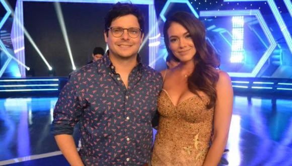 """Gian Piero Díaz y Jazmín Pinedo, presentadores de """"Esto es guerra"""", sintonizado 'reality' de competencia de Canal 4. (Foto: América TV)"""