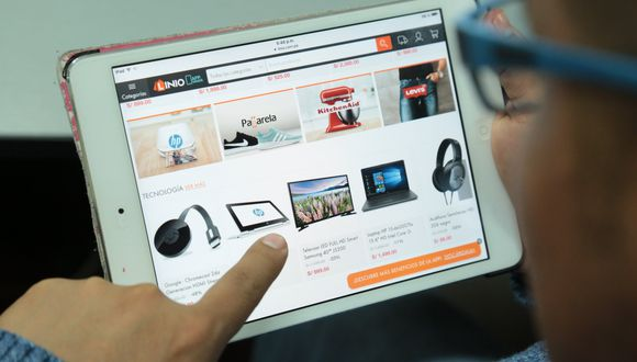 Comercio electrónico. (Foto: GEC)