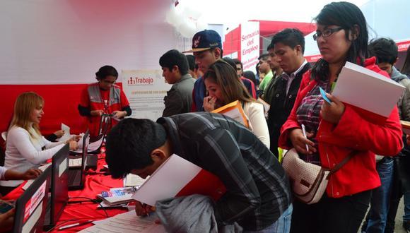 El MTPE busca promover el empleo. (Foto: GEC)
