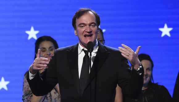 "Quentin Tarantino y su película ""Once Upon a Time in Hollywood"" se llevaron varios premios en los Critics' Choice Awards 2020. (Foto: AP)"