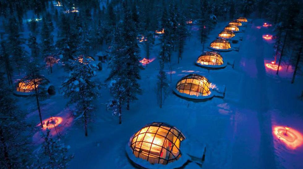 En este hotel podrás tener una vista clara de la aurora boreal - 1