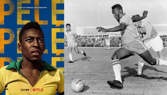 Un Pelé de 19 años muestra su talento durante un amistoso en Suecia, en 1960. Dos años antes, se coronó campeón mundial en dicho país. (Foto: AFP)