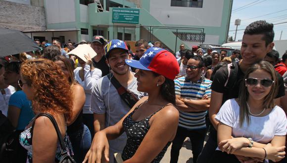 La ministra de Economía consideró como positiva a la migración venezolana. (Foto: GEC)