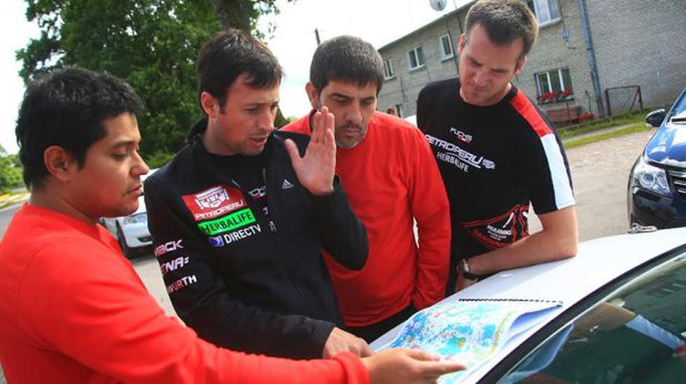 Nicolás Fuchs listo para competir desde mañana en Rally Polonia - 2