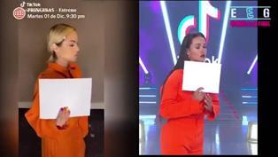 Angie Arizaga y Karen Dejo se enfrentan en un duelo de TikTok