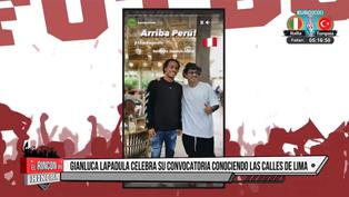 Selección peruana: Lapadula disfrutó del Centro Histórico de Lima
