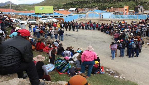Las Bambas: oficializan estado de emergencia en Cotabambas