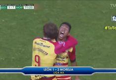Edison Flores marcó nuevo golazo y metió a Morelia en semifinales de la liga de MX