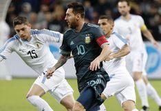 Argentina igualó 2-2 ante Uruguay en clásico caliente por fecha FIFA desde Tel Aviv